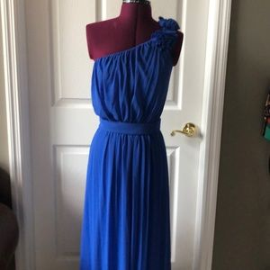 Beautiful one shoulder gown